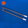 Gun-type SiC heating element